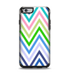 The Fun Colored Vector Sharp Chevron Pattern Apple iPhone 6 Otterbox Symmetry Case Skin Set