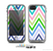 The Fun Colored Vector Sharp Chevron Pattern Skin for the Apple iPhone 5c LifeProof Case
