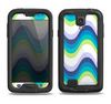 The Fun Colored Vector Sharp Swirly Pattern Samsung Galaxy S4 LifeProof Fre Case Skin Set