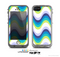The Fun Colored Vector Sharp Swirly Pattern Skin for the Apple iPhone 5c LifeProof Case