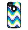 The Fun Colored Vector Sharp Swirly Pattern Skin for the iPhone 4-4s OtterBox Commuter Case