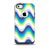 The Fun Colored Vector Sharp Swirly Pattern Skin for the iPhone 5c OtterBox Commuter Case