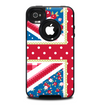 The Fun Styled Vector London England Flag Skin for the iPhone 4-4s OtterBox Commuter Case