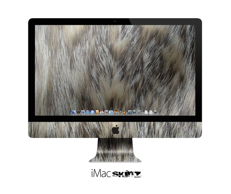 The Furry Animal Skin for the Apple iMac 27 Inch Desktop Computer for the iMac