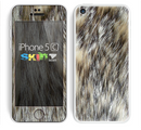 The Hot Teal Cheetah Animal Print Skin for the Apple iPhone 5c