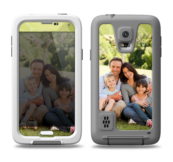 The Add Your Own Image Skin Samsung Galaxy S5 LifeProof Fre Case Skin Set