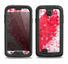 The Geometric Faded Red Heart Samsung Galaxy S4 LifeProof Fre Case Skin Set