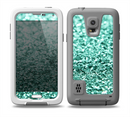 The Glimmer Green Skin for the Samsung Galaxy S5 frē LifeProof Case