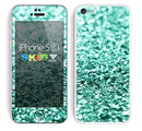 The Glimmer Green Skin for the Apple iPhone 5c
