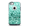 The Glimmer Green Skin for the iPhone 5c OtterBox Commuter Case