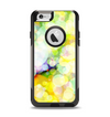 The Glistening Colorful Unfocused Circle Space Apple iPhone 6 Otterbox Commuter Case Skin Set