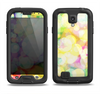 The Glistening Colorful Unfocused Circle Space Samsung Galaxy S4 LifeProof Nuud Case Skin Set