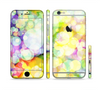 The Glistening Colorful Unfocused Circle Space Sectioned Skin Series for the Apple iPhone 6 Plus