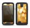 The Glistening Golden Unfocused Light Speckles Samsung Galaxy S4 LifeProof Fre Case Skin Set
