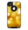 The Glistening Golden Unfocused Light Speckles Skin for the iPhone 4-4s OtterBox Commuter Case