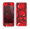 The Glossy Electric Hearts Skin for the Apple iPhone 5c