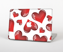 "The Glossy Red 3D Love Hearts Skin Set for the Apple MacBook Pro 15"" with Retina Display"