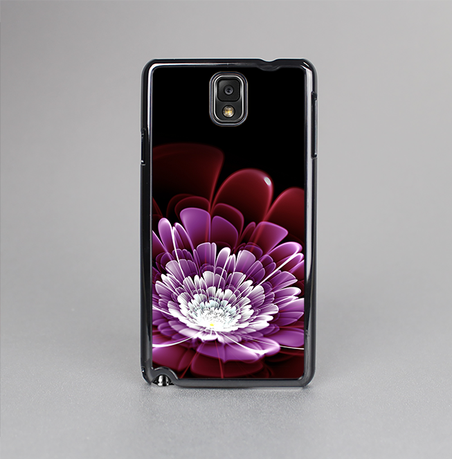 The Glowing Abstract Flower Skin-Sert Case for the Samsung Galaxy Note 3