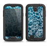 The Glowing Blue Cells Samsung Galaxy S4 LifeProof Fre Case Skin Set