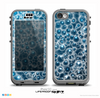 The Glowing Blue Cells Skin for the iPhone 5c nüüd LifeProof Case