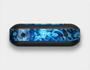 The Glowing Blue Music Notes Skin Set for the Beats Pill Plus