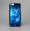 The Glowing Blue Music Notes Skin-Sert Case for the Apple iPhone 6 Plus