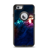 The Glowing Colorful Space Scene Apple iPhone 6 Otterbox Defender Case Skin Set