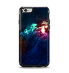 The Glowing Colorful Space Scene Apple iPhone 6 Otterbox Symmetry Case Skin Set