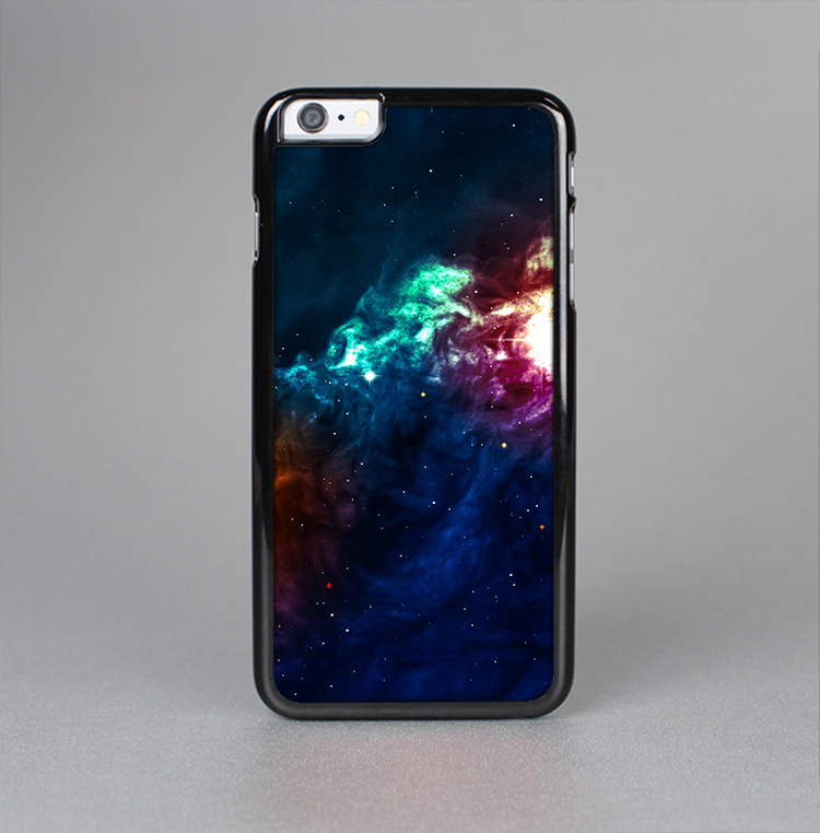 The Glowing Colorful Space Scene Skin-Sert for the Apple iPhone 6 Skin-Sert Case
