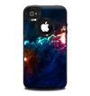 The Glowing Colorful Space Scene Skin for the iPhone 4-4s OtterBox Commuter Case