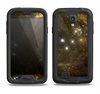 The Glowing Gold Universe Samsung Galaxy S4 LifeProof Fre Case Skin Set