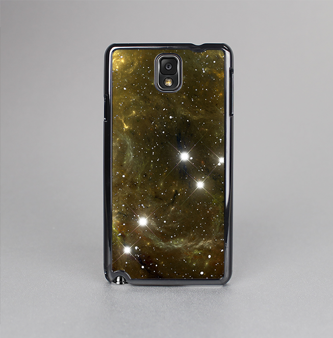 The Glowing Gold Universe Skin-Sert Case for the Samsung Galaxy Note 3