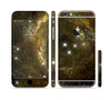 The Glowing Gold Universe Sectioned Skin Series for the Apple iPhone 6 Plus