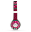 The Glowing Green & Pink Ethnic Aztec Pattern Skin for the Beats by Dre Solo 2 Headphones