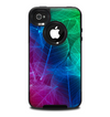 The Glowing Leaf Structure Skin for the iPhone 4-4s OtterBox Commuter Case