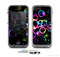 The Glowing Neon Bubbles Skin for the Apple iPhone 5c LifeProof Case