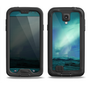 The Glowing Northern Lights Samsung Galaxy S4 LifeProof Nuud Case Skin Set