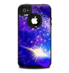 The Glowing Pink & Blue Comet Skin for the iPhone 4-4s OtterBox Commuter Case