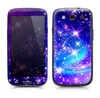 The Glowing Pink & Blue Starry Orbit Skin For The Samsung Galaxy S3