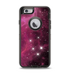 The Glowing Pink Nebula Apple iPhone 6 Otterbox Defender Case Skin Set