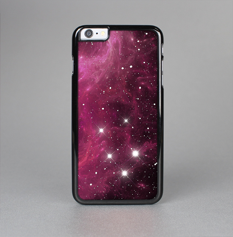 The Glowing Pink Nebula Skin-Sert Case for the Apple iPhone 6 Plus