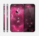 The Glowing Pink Nebula Skin for the Apple iPhone 6