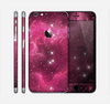 The Glowing Pink Nebula Skin for the Apple iPhone 6 Plus