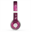 The Glowing Pink Nebula Skin for the Beats by Dre Solo 2 Headphones