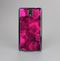 The Glowing Pink Outlined Hearts Skin-Sert Case for the Samsung Galaxy Note 3
