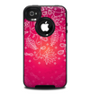 The Glowing Pink & White Lace Skin for the iPhone 4-4s OtterBox Commuter Case