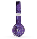 The Glowing Purple Orbs of Light Skin Set for the Beats by Dre Solo 2 Wireless Headphones