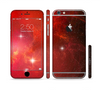 The Glowing Red Space Sectioned Skin Series for the Apple iPhone 6 Plus