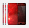 The Glowing Red Space Skin for the Apple iPhone 6