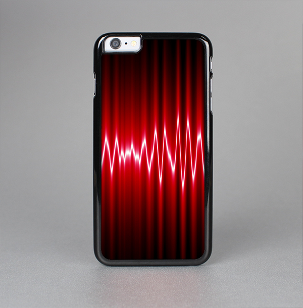 The Glowing Red Wiggly Line Skin-Sert Case for the Apple iPhone 6 Plus